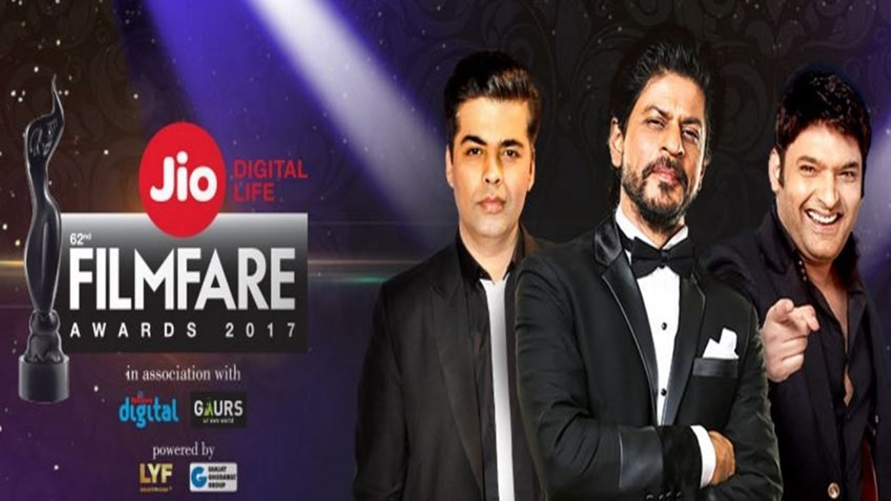 62nd Jio Filmfare Awards 2017 1080p WEBHD Untouched - DUS